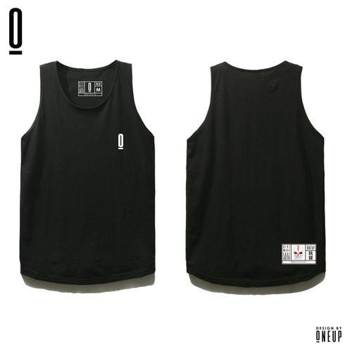 ONEUP ST02 LONG SLEEVELESS - BOX - BLACK