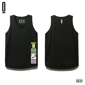 ONEUP ST02 LS - JAMAICA - BLACK