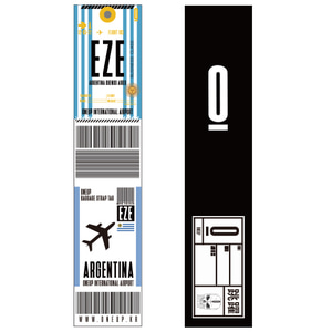 ONEUP SA01 BAGGAGE NAME TAG - ARGENTINA 네임택키링