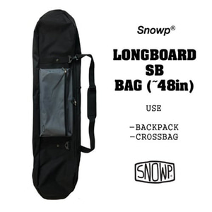 Snowp 스놉 LONGBOARD SB BAG (~48 in) - GREY